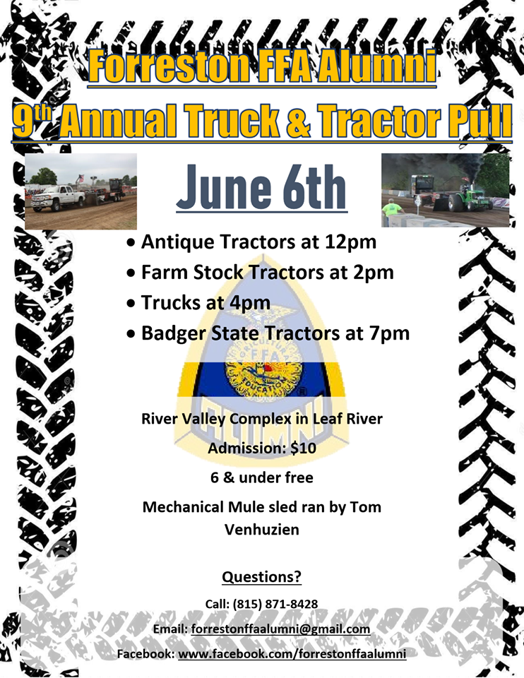 Truck and Tractor Pull 2020