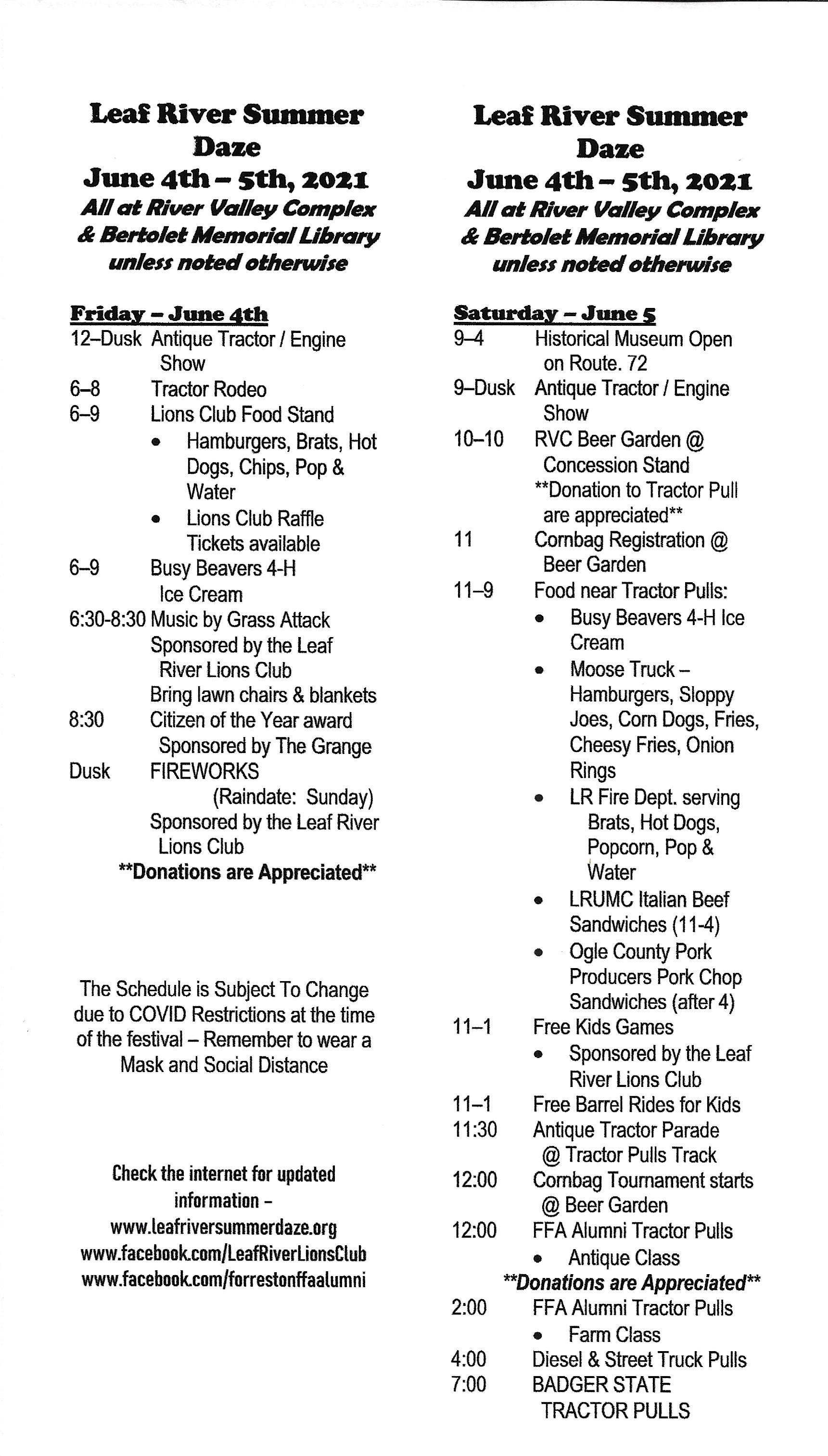 2021 Schedule FINAL